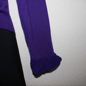 Burberry Tops - Burberry Royal Purple Merino Wool And Silk Top